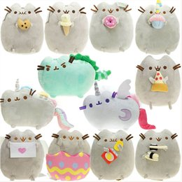 $enCountryForm.capitalKeyWord Australia - EMS The Cat Angel Cake Cookie Icecream Egg Pizza Doughnut Rainbow Sushi Dinosaur Dino Moon Cat 23CM Soft Doll Best Stuffed Gift Plush Toy