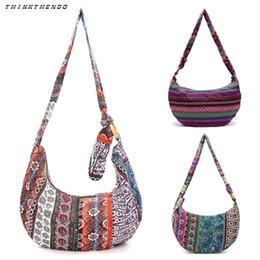 0466d1d51673 THINKTHENDO новые женщины дамы старинные этнические сумка девушки женская  мода Crossbody бохо хиппи тотализатор сумка горячая