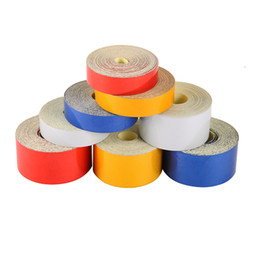Car deCoration tape online shopping - 1PC Car Sticker Reflective Tape Sheeting Film Automotive Body Motorcycle Decoration Waterproof Auto Motor Color Strip Styling