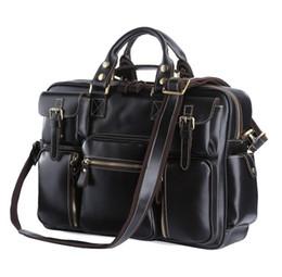 jmd leather bags 2019 - Hot Sale High Quality Genuine Leather JMD Men Travel Bags Handbags Shoulder Bags Messenger 7028A cheap jmd leather bags