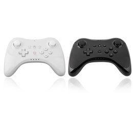 online shopping WUP Dual Analog Bluetooth Wireless Remote Controller USB WII U Pro Game Gaming Gamepad Controllers for Nintendo Wii U WiiU White Black