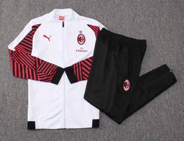 Best-selling new Thailand Quality 18 19 season AC Milan tracksuits 2018  2019 home away HICUAIN soccer jersey AKAK training suit SIZE S-XL 5ee020221