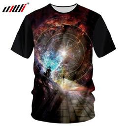 964aff583 Ujwi preto tshirt homens 2018 topos de verão galaxy space star impresso 3d  camisetas masculinas hip hop solto fino casual t shirt tees unisex