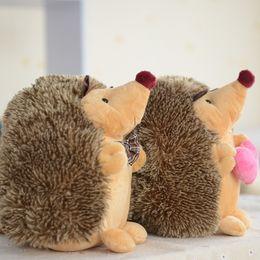$enCountryForm.capitalKeyWord Canada - Stuffed Animal Toys Plush Dog Toy Pet Chew Toy, [2PACK] Non-toxic Super Soft Plush Hedgehog Figure Toys, Brown