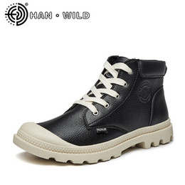 Male style boots online shopping - Vintage Martin Boots for Man Lace up Ankle Boots Spring Autumn Male Motorcycle British Style Men s Casual Shoes
