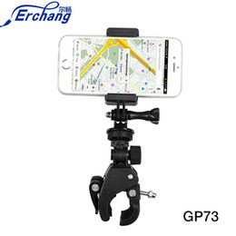 Bicycle Accessories Canada - Erchang Universal Mobile Phone Holder Bicycle Accessories Phone Stand Bike Cycling Handlebar Mount Holder Clip