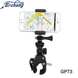Wholesale Erchang Universal Mobile Phone Holder Bicycle Accessories Phone Stand Bike Cycling Handlebar Mount Holder Clip