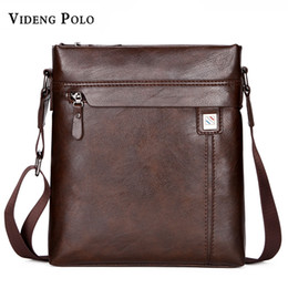 078437fa84 VIDENG POLO Men Bag New Famous Brand Leather Casual Men s Crossbody  Shoulder Bag Business Mens Messenger Bag Vintage male bolsas