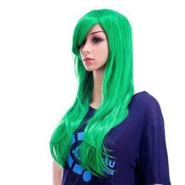 $enCountryForm.capitalKeyWord UK - 26-Inch Long Curly Wave Cosplay Synthetic Wig Colored Hair Piece