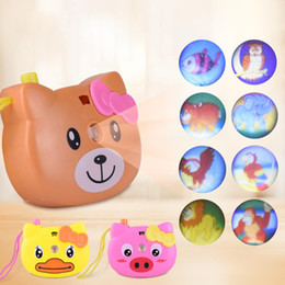 Children Toy Camera Australia - LeadingStar Educational Cartoon Projection Camera Toy Animal Pattern Light Projection Children Toy Random Color