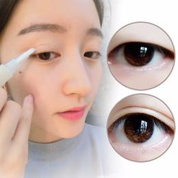EyElashEs tapE online shopping - Waterproof Clear False Eyelash Glue Adhesive Double Eyelid Tape Cream Glue Eye Makeup Tool