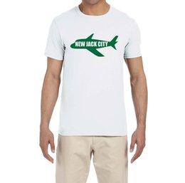 Custom Print T Shirt Cheap Australia - New Jack City T-Shirt custom printed tshirt hip hop funny tee mens tee shirts Comfortable t shirt Casual Short Sleeve Print tees cheap