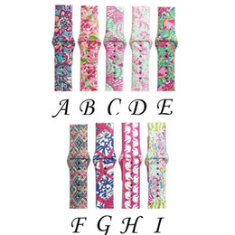 Apple wAtch wAtchbAnd silicone strAp online shopping - 9 Design For Apple Watch Replacement Bands Lilly inspired Pulitzer Silicone mm mm Watch Band Straps Watchband