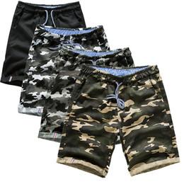$enCountryForm.capitalKeyWord Canada - 2018 Men Shorts Summer Fashion Trousers 100% Cotton Casual Slim Hip-Hop Shorts Black Camo Jogger High Quality Men M-4XL
