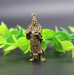 $enCountryForm.capitalKeyWord Australia - Chinese pure brass guan gong small pendant