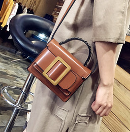 $enCountryForm.capitalKeyWord Canada - New women PU vintage single shoulder cross body handbag female evening purse lady fashion casual bag black green brown color no526
