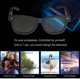 $enCountryForm.capitalKeyWord NZ - Sunglasses with Variable Electronic Tint Control Sunglasses Men Polarized Sunglasses for Women Travelling Driving Shopping Party