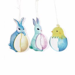 $enCountryForm.capitalKeyWord UK - 3pieces set Blue Rabbit And Chicken Honeycomb Balls For Easter Party Decoration Hang Supplier for outside decorations for yard