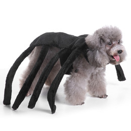 $enCountryForm.capitalKeyWord NZ - Halloween Pet Dog Costume Clothes Big Spider Costume Clothes For Dogs Chihuahua Clothing Pet Product Clothes For Roupa para 25P1 S M L