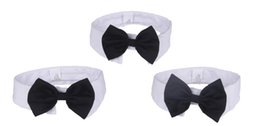 Wholesale Cute Pet Dog Bow Ties Fashion Puppy Cotton Bow Tie Collar Chihuahua Accessories