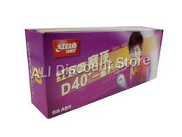 Chinese  30 PCS DHS 1-Star 1 Star D40+ White Table Tennis Balls For PingPong manufacturers