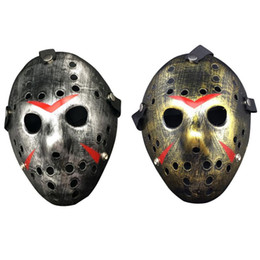 black mask cosplay 2019 - Household New Hot Jason vs Friday The 13th Horror Hockey Cosplay Costume Halloween Killer Mask Y9 cheap black mask cospl