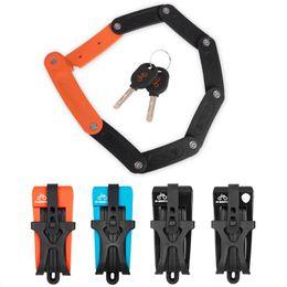 Folding Bike Lock Canada 8 Joints Alloy Steel Anti Hydraulic With