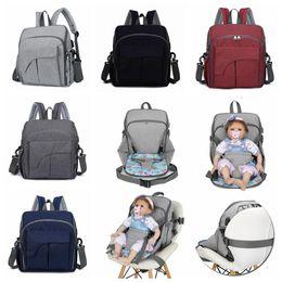BaBy diaper handBags online shopping - USB Diaper Bag Colors Maternity Travel Backpack Designer Baby Care Stroller Handbag Baby Seat Nursing Storage Bag OOA5931