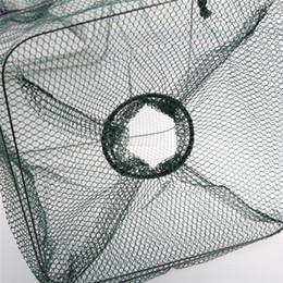 Crab gear online shopping - Fishing Shrimp Trap Fishing Net Fish Shrimp Minnow Crab Baits Cast Mesh Trap rede de pesca