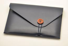$enCountryForm.capitalKeyWord NZ - Briefcase style Laptop Bag super slim sleeve pouch cover,microfiber leather laptop sleeve case for Lenovo Yoga 720 13 15