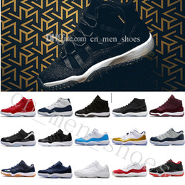 Wholesale 2018 Cheap NEW XI Black Gold Velvet Heiress Mens Women Basketball Shoes Wool Sneakers s s Trainers Man Sports Shoe US Eur