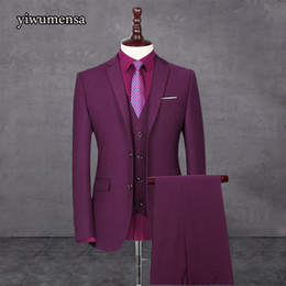 $enCountryForm.capitalKeyWord Australia - Y527 costume homme mariage 2018 Suits & Blazer mens wedding suits 5 Color factory Custom made Fashsion mens suits with pants S18101902