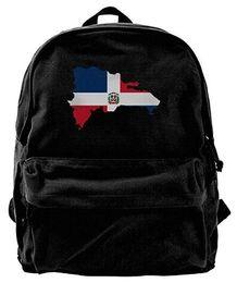 $enCountryForm.capitalKeyWord UK - Dominican Republic Canvas Shoulder Backpack Best Graphic Hiking Backpack For Men & Women Teens College Travel Daypack
