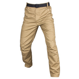 Chinese  Tactical Cargo Pants Men SWAT Army Combat Train Paintball Pockets Pants Mens Casual Thin Quick Dry Hunt Work Trousers manufacturers