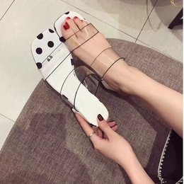 $enCountryForm.capitalKeyWord Canada - New Sexy crystal heel shoes women sandals slippers high heel shoes 2018 best-selling Transparent women shoes summer sandals