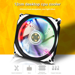 strong computers 2019 - New Hot Color Changing Fan Computer Cooler Multicolor Fans for PC Strong Wind Mute Fan cheap strong computers