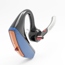 Bluetooth handsfree voice online shopping - V15 Business Bluetooth Headset Wireless Handsfree Office Bluetooth Earphones Headphones with Mic Voice Control Noise Cancelling