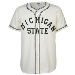 Vintage baseball jersey xl online shopping - Michigan State Home Jersey Stitched Embroidery Logos Vintage Baseball Jerseys Custom Any Name Any Number