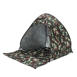 Need Fiber Australia - Outdoor Waterproof Ultralight Polyester Fabrics Full Automatic Camouflage Tent Festival Tent Shelter Travel Camping Hiking Tent