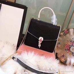 Genuine Snake Leather Handbags Canada - genuine leather women designer crossbody  bags luxury handbags fashion perfect ca822dd563