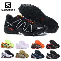 2017 Salomon Speedcross 3 Schwarz Gelb FrauenMänner Schuhe