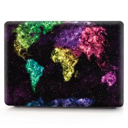 Macbook Retina 13 Inches Australia - Map-7 Oil painting Case for Apple Macbook Air 11 13 Pro Retina 12 13 15 inch Touch Bar 13 15 Laptop Cover Shell