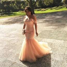 Corset For Women Zipper NZ - African Girls Prom Dresses 2018 for Women Corset Sexy Off Shoulder Sweetheart Corset Tulle Vestido De Festa Evening Party Prom Gowns