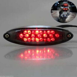 Bike Brake light rear online shopping - 1PC Waterproof LEDs V Motorcycle Rear Light Led Bike Rear Tail Stop Brake Signal Light Lighting Motorbike Parts