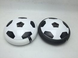 Football Games For Kids Australia - Newest Safe Indoor Kids Sports Ball Air Power Soccer Disk Game Bright Light Electric Suspension Football Toy for Children