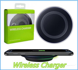 Charger Samsung Quality Australia - High Quality Universal Qi Wireless Charger Charging For Samsung Galaxy s7 Edge s8 plus note8 iphone 8 X mobile pad with package MQ50