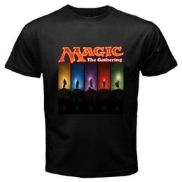 f2d94339 Band T Shirts Crew Neck Magic The Gathering Short Sleeve Printing Shirt For  Men