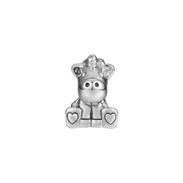Pandulaso Bruno The Unicorn Charm Silver Beads For Jewelry Making Fit Chairms 925 Silver Bracelet & Bangle Fashion Jewelry Autumn Collection on Sale