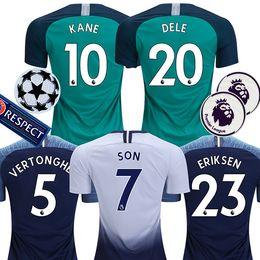 18 19 soccer jersey 2018 2019 DELE football shirt top kits DEMBELE ERIKSEN  Camiseta de futbol SON Camisa de futebol maillot de foot 43b2cb0ab