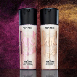 Fix Block Australia - PINK AND GOLD FIX SPRAY HIGHLITHER MC FIX Prep + Prime Goldlite Pinklite Shimmer Setting Spray Longlasting Moisturizing Primer 100ml
